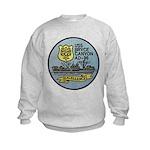 USS BRYCE CANYON Kids Sweatshirt