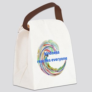 Kindness Reaches Everyone Canvas Lunch Bag