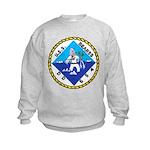 USS BEARSS Kids Sweatshirt