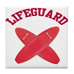 Lifeguard Tile Coaster