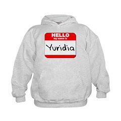 Hello my name is Yuridia Hoodie