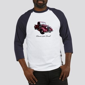1936 Old Pickup Truck Baseball Jersey