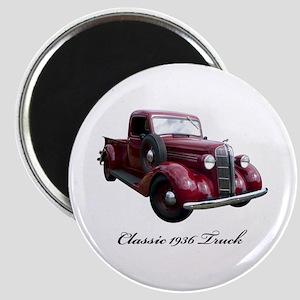 1936 Old Pickup Truck Magnet