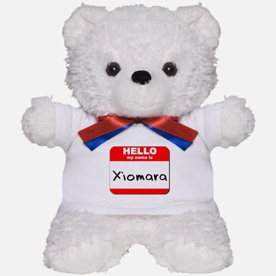 Hello my name is Xiomara Teddy Bear