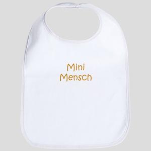 mini mensch Bib