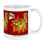 S is for Salamander Mug