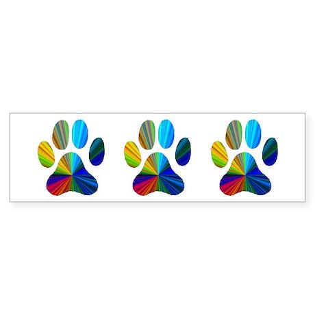 3 Paws Bumper Sticker