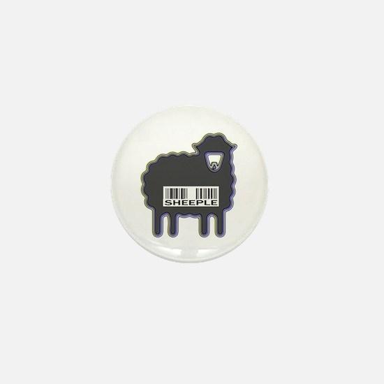 NEW Sheeple Mini Button