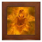 Angel #108 : Framed Tile
