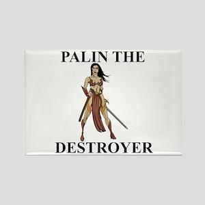 Sarah Palin the Destroyer Rectangle Magnet