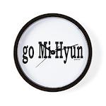 go Mi Hyun Wall Clock