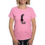 Borzoi Princess Black T-Shirt