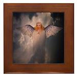 Angel #126 : Framed Tile