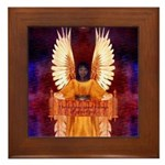 Angel #127 : Framed Tile