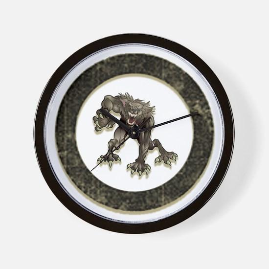 Funny Teen wolf Wall Clock