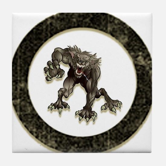 Teen wolf Tile Coaster