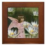 Angel #165 : Framed Tile