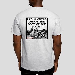 Life Is Cheap Ash Grey T-Shirt