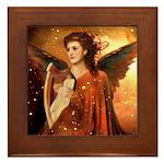 Angel #190 : Framed Tile
