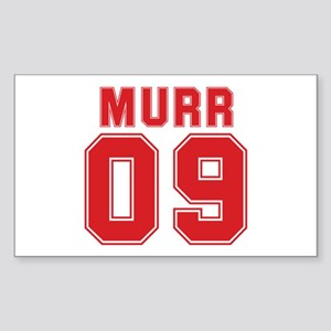 MURR 09 Rectangle Sticker