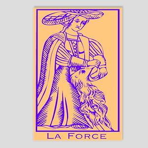 La Force, Tarot Postcards (Package of 8)