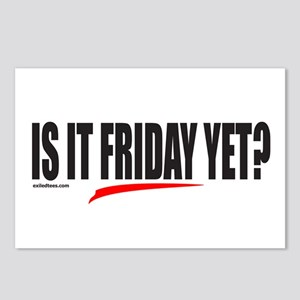 IS IT FRIDAY YET? Postcards (Package of 8)
