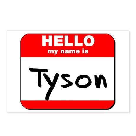 Hello my name is Tyson Postcards (Package of 8)