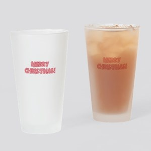 marry christmas Drinking Glass