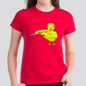 Flute Chick Women's Dark T-Shirt