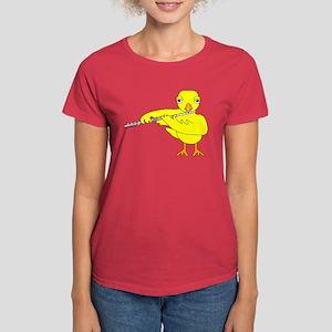 Flute Chick Women's Dark T-Shirt