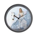 Angel #223 : winged horse : Wall Clock