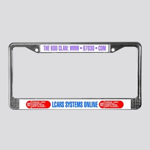 LCARS License Plate Frame