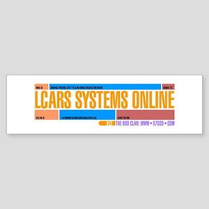 LCARS Bumper Sticker