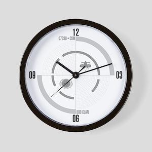 LCARS Wall Clock