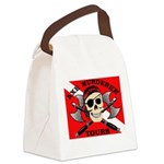 AMT square Canvas Lunch Bag