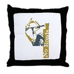 No Roads 1 Throw Pillow