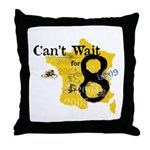 cant wait for 8.2 Throw Pillow
