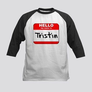 Hello my name is Tristin Kids Baseball Jersey