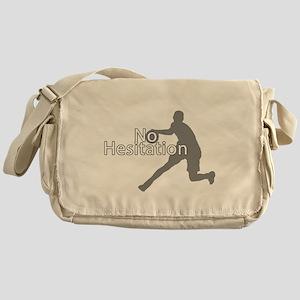 No Hesitation T Shirt Messenger Bag