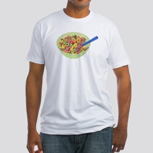 Some Fruity Cereal On Your Fitted T-Shirt