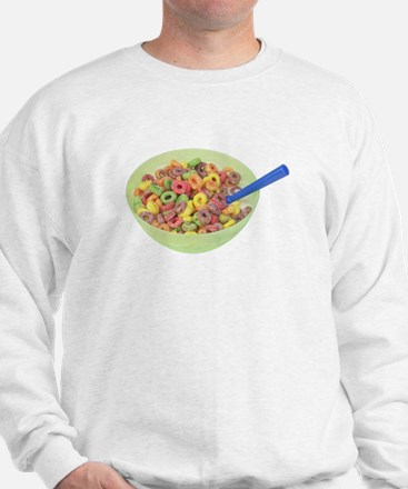 Some Fruity Cereal On Your Sweatshirt
