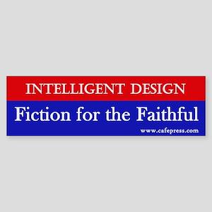 Fiction for the Faithful Bumper Sticker
