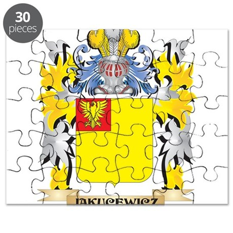 Jakucewicz Coat of Arms - Family Crest Puzzle