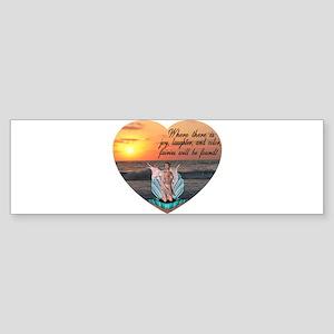 Fairies Found Bumper Sticker