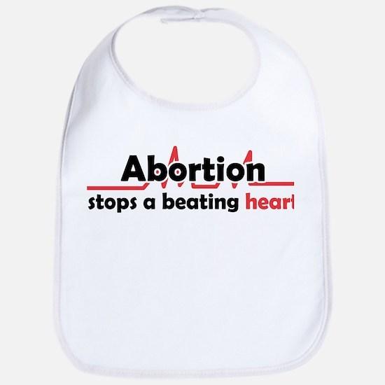 Abortion stops heart Bib