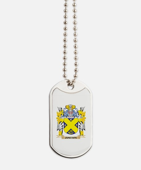 Jameson Coat of Arms - Family Crest Dog Tags