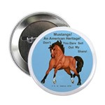"""Mustang Heritage 2.25"""" Button (10 pack)"""
