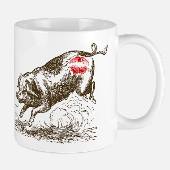 Kiss My Bacon -- Yes, it's Lipstick on a Pig! Mug