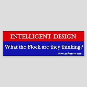 What the Flock? Bumper Sticker