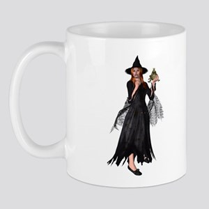 Witch Frog Mug